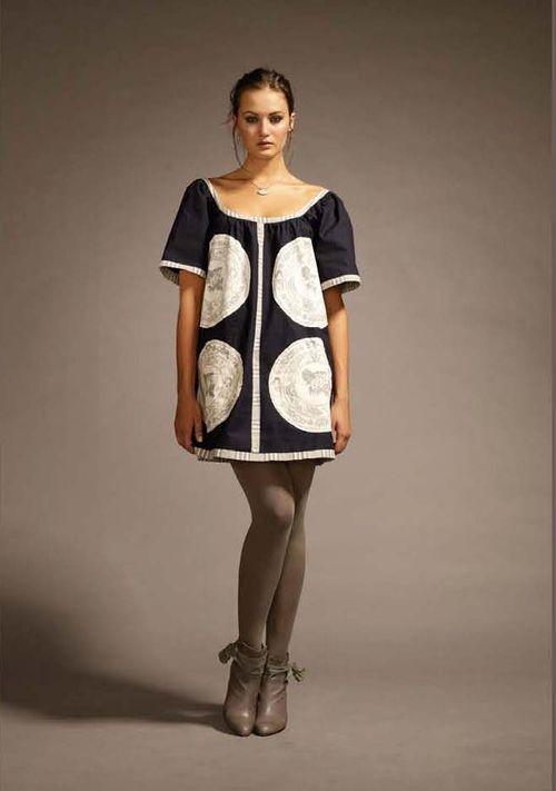 2China Plate Dress