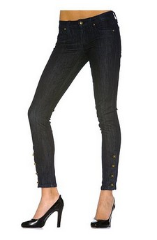 Kate skinny button anle204