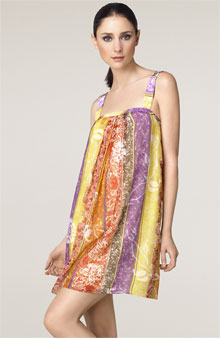 Ao beaded strap tank dress365