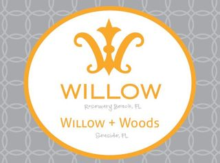 Willow + woods logo