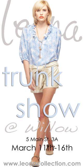 Leona trunk show 2011