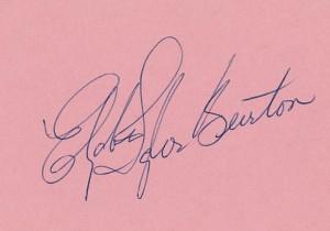 Taylor-Burton-signature