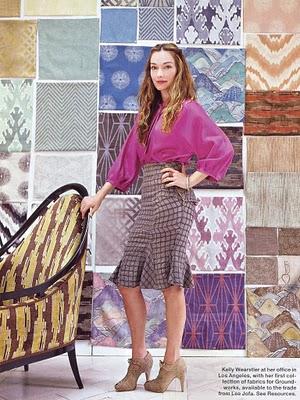 Kelly wearstler.portrait.fabrics